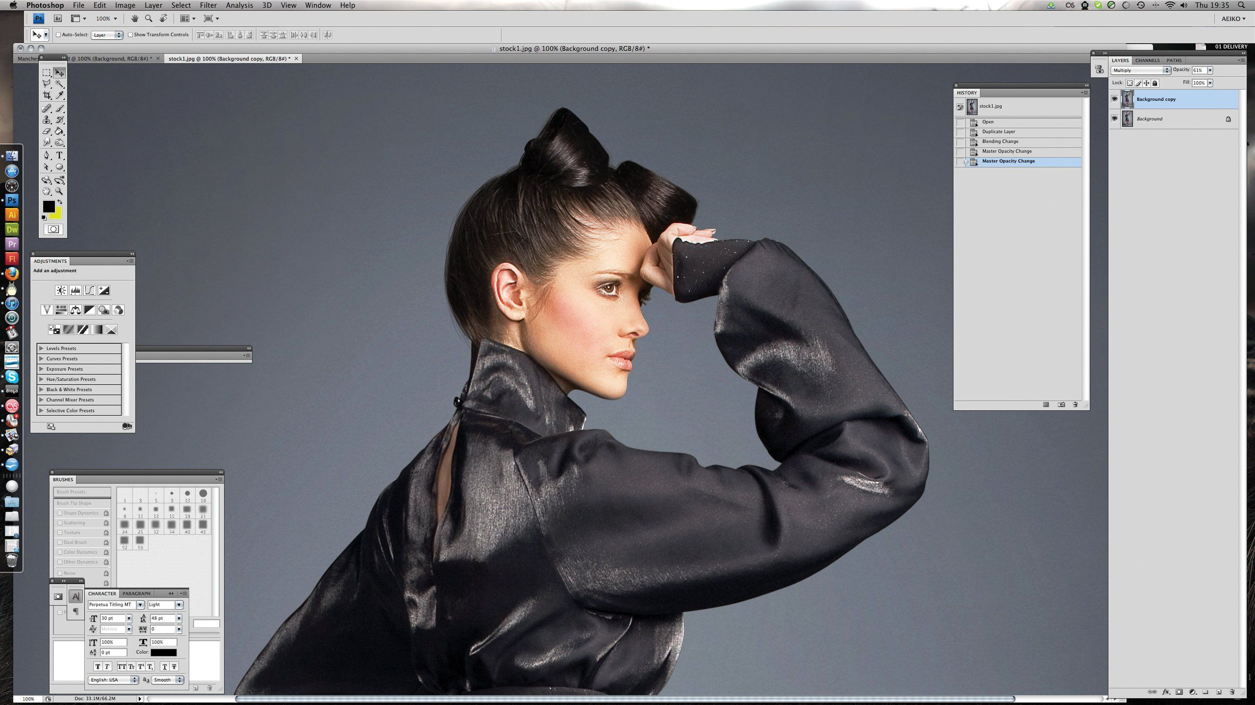 Pete Harrison radically reworks a fashion shot till the whole lookbegins to unravel before your eyes