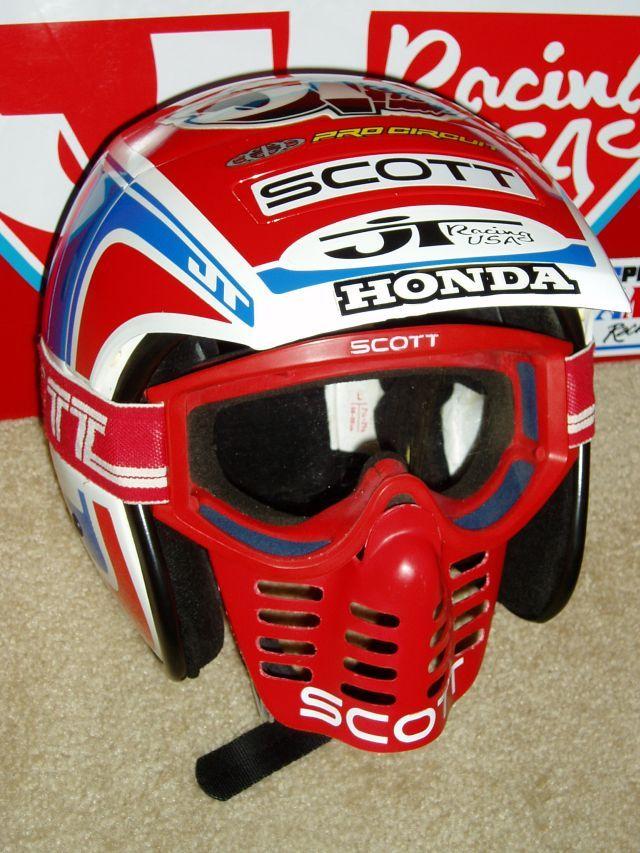 Johnny O Mara Jt Racing Motorcycle Helmets Vintage Vintage Helmet Vintage Motocross