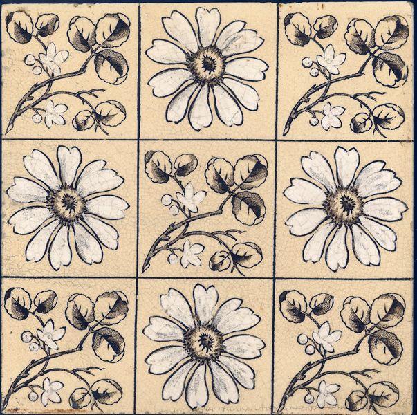 West Side Art Tiles - 4488n392p0 - English Tile>