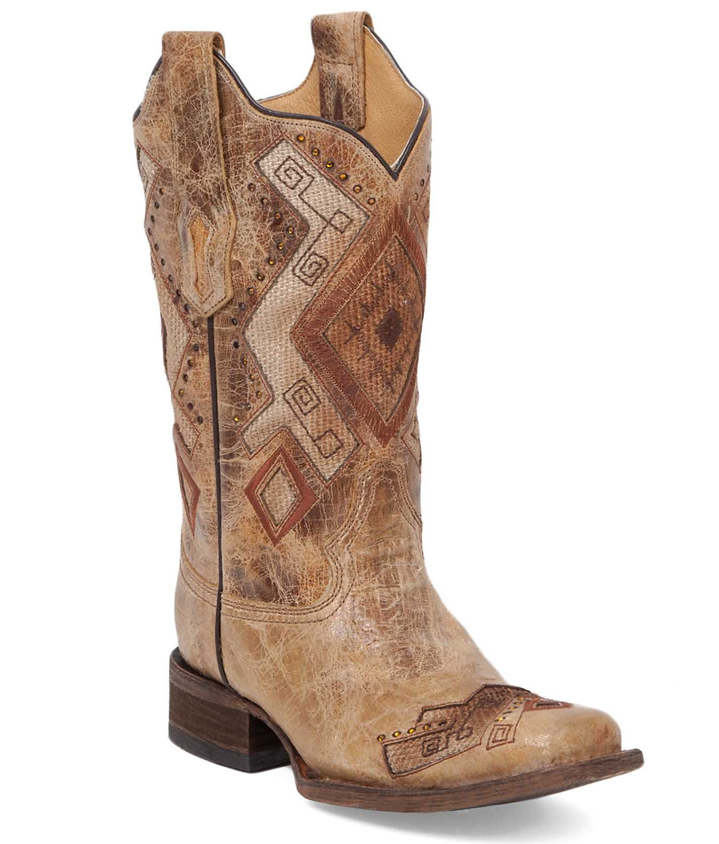 Corral Plano Square Toe Cowboy Boot Women S Shoes Buckle Boots Girls Boots Cowboy Boots