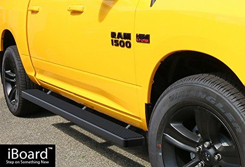 Matte Black 5 Running Boards 09 16 Dodge Ram 1500 10 16 Ram 2500 3500 Crew Cab Car Accessories Online Market Dodge Ram 1500 Dodge Ram Crew Cab