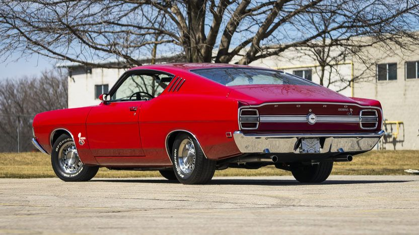Ford Torino Cobra  V Cobrajet Bigblock T   Traction Lok Axle And Competition Suspension Upgraded Nos Low Riser Xv Solid