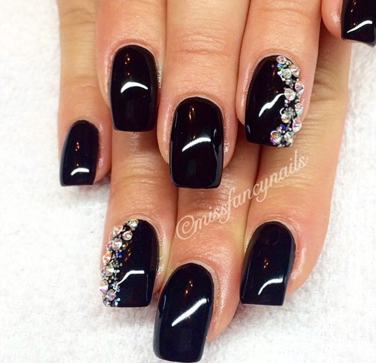 Pin by Debra Perry on Nails   Pinterest   Gray nails and Black nails