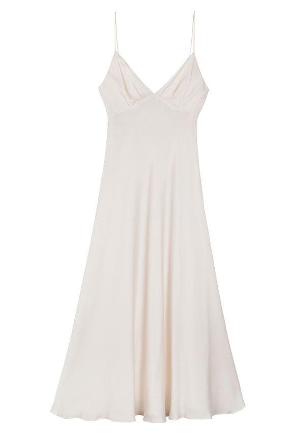 eb14dc86a502 SALE 20% OFF Zimmermann White Dress - Pearl Winsome Bias Slip | BONA DRAG