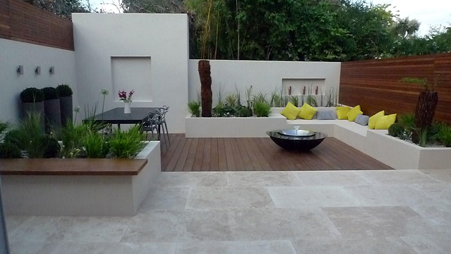 Image Result For Modern Back Garden Ideas Back Garden Design