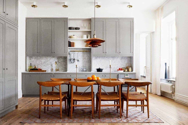 Moderne Küchen Mit Insel An Der Wand   lueduprep