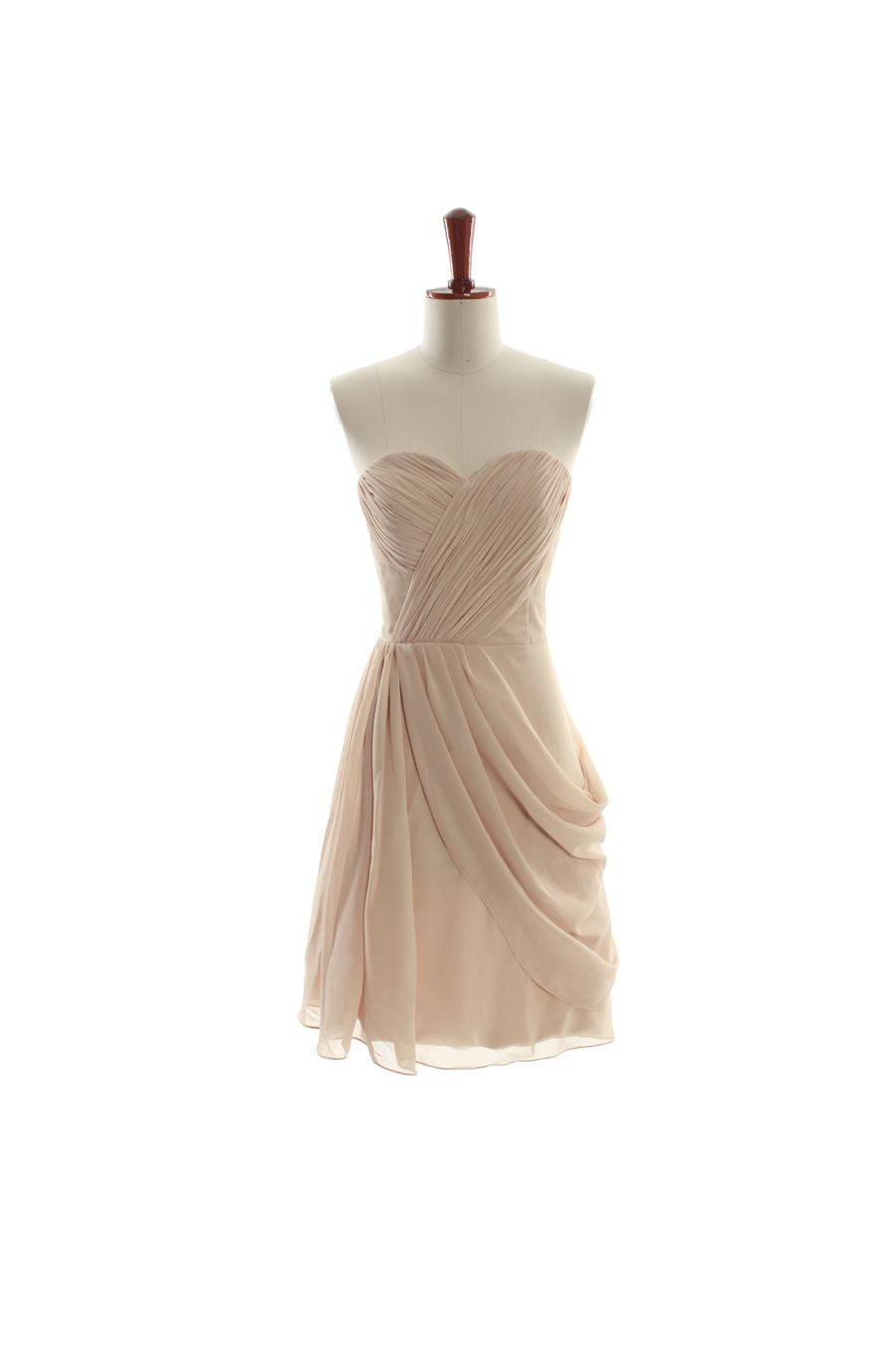 Lovely sweetheart chiffon bridesmaid gown fancy pinterest