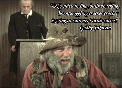 Blazing Saddles Gabby Johnson Gibberish Blazing Saddles Mel