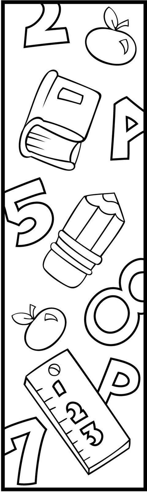 marcapaginas infantiles para imprimir - Buscar con Google | dia do ...