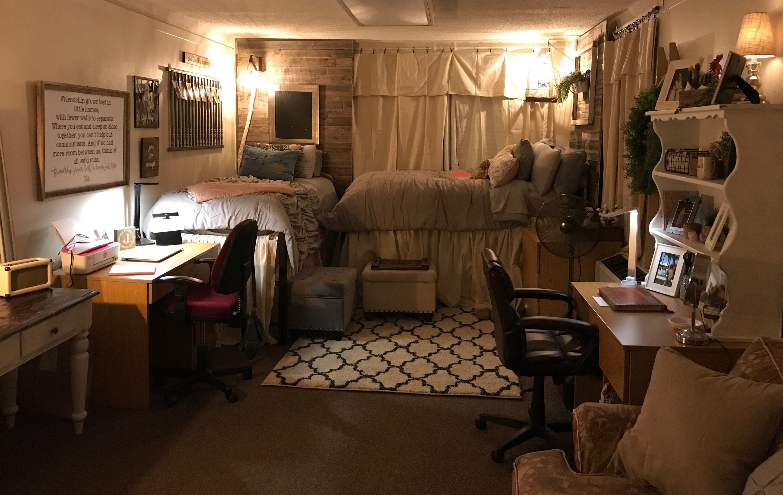 Dorm Room Sikes Hall Acu Dorm Room Hacks Purple Dorm Rooms Dorm Room