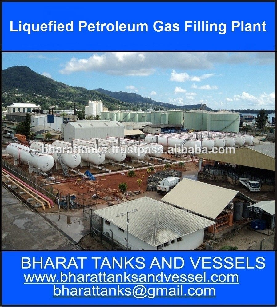Quot Liquefied Petroleum Gas Filling Plant Quot Liquefied Petroleum Gas Propane Tank Installation