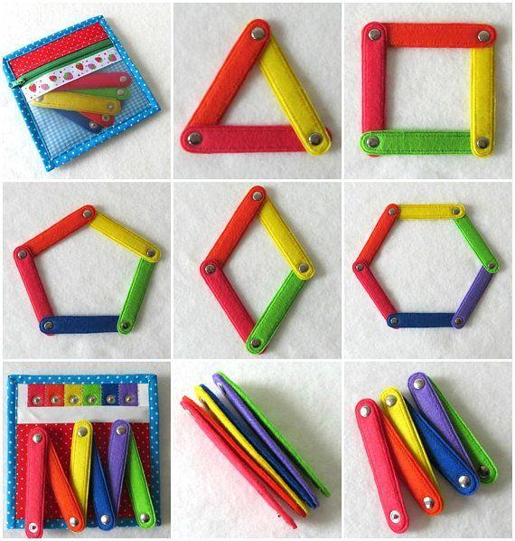 Aktivitätsspiel Fühlte mich ruhig Buchseite Montessori Farbabstimmung #felttoys