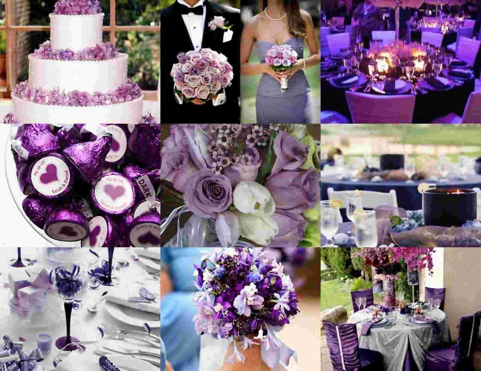 Romantic Purple Wedding Theme Purple Wedding Theme Purple