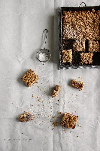 squares091 Strawberries crumb cake