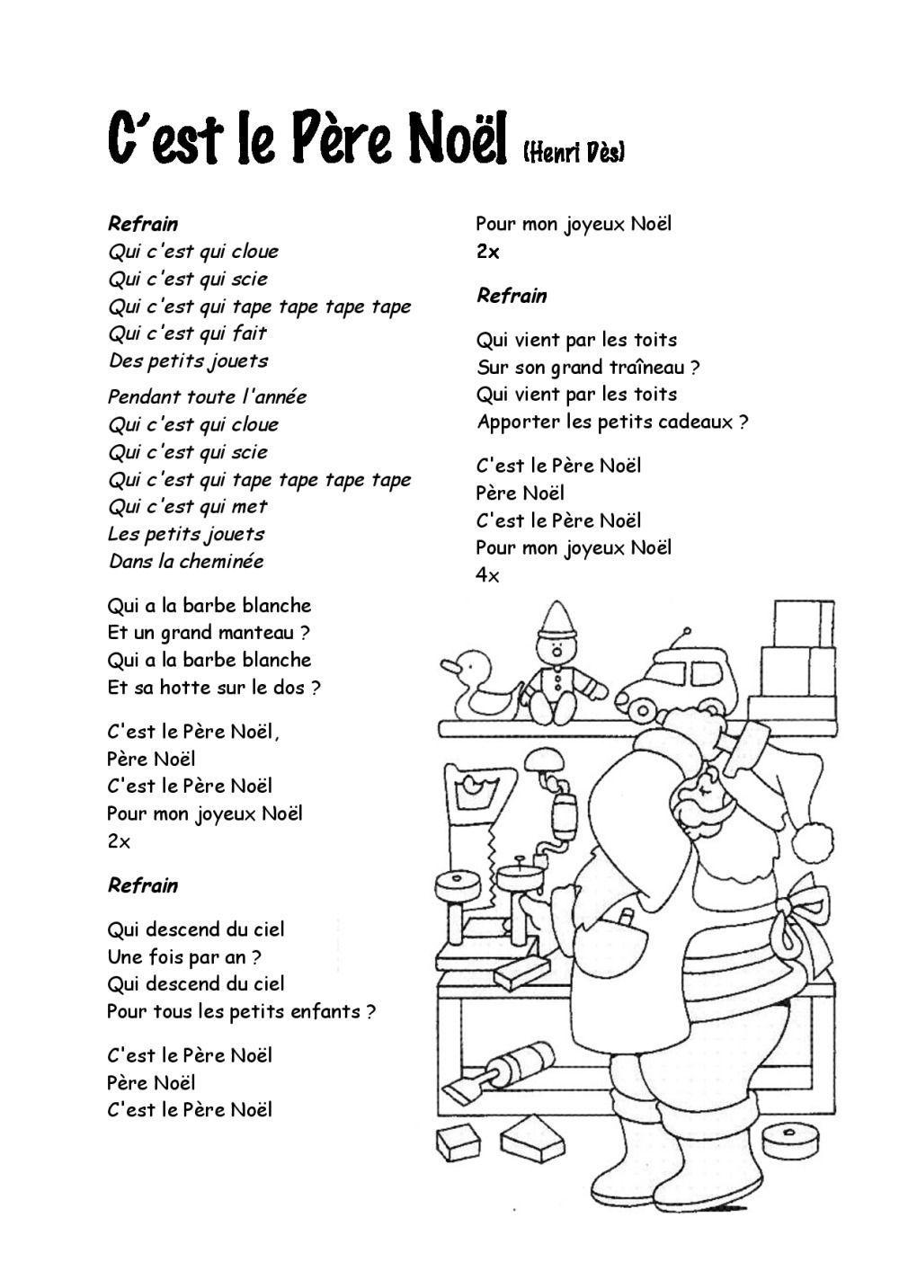 Paroles Chants De Noel Paroles chansons de Noël | BDRP | Französisch