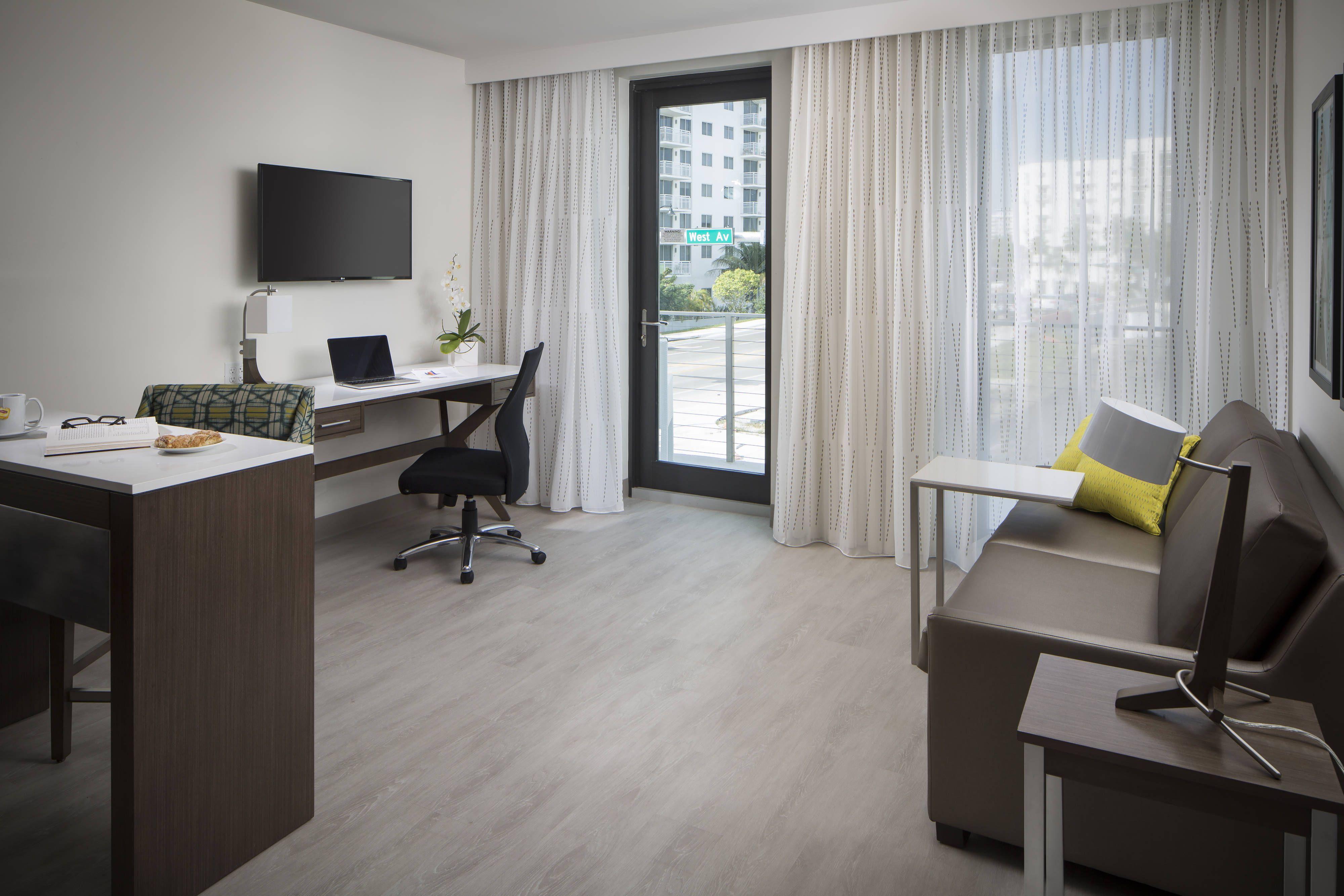 Residence Inn Miami Beach South Beach One-Bedroom Suite ...