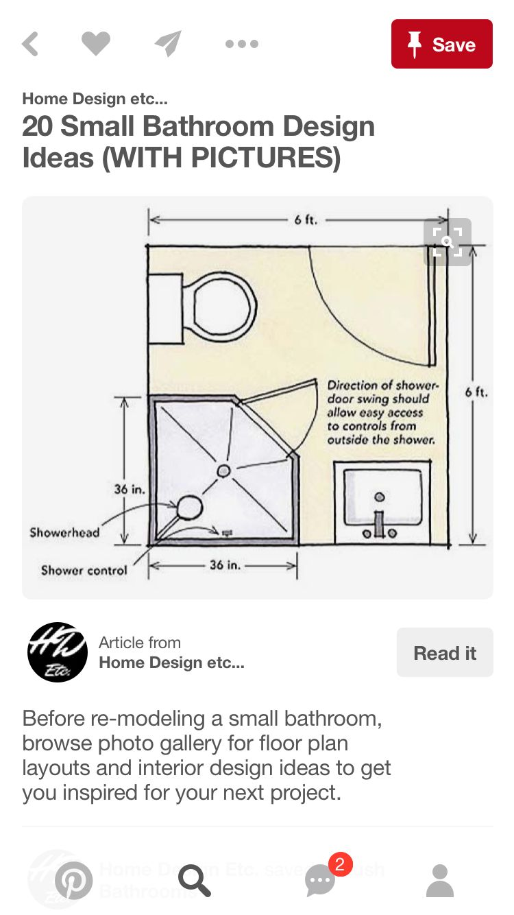 Pin By Serena Salsbury On Projects Small Bathroom With Shower Small Bathroom Layout Bathroom Floor Plans