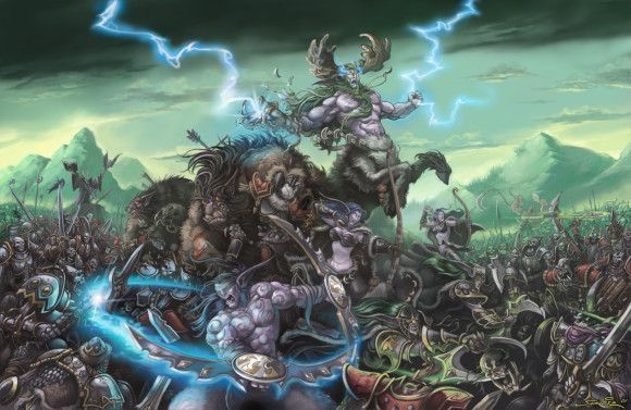 Brushing Up On The Art Of Blizzard With Chris Metzen And Sam Didier World Of Warcraft Warcraft Warcraft Art