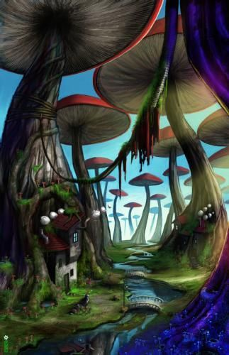 images of fairies and mushrooms - Google Search