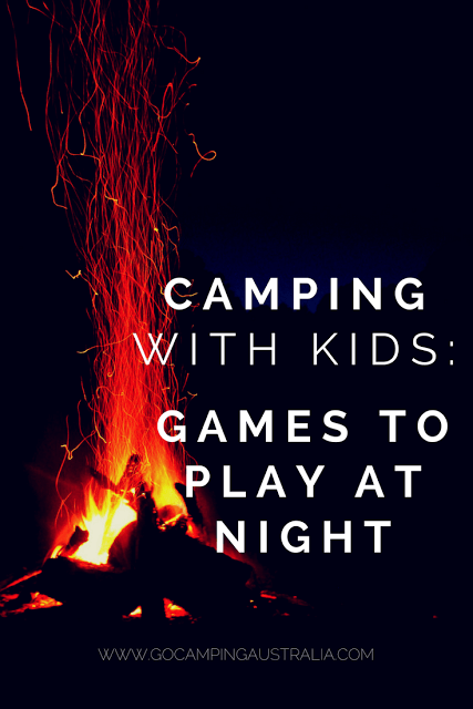 Camping with Kids - Games to play at night | School