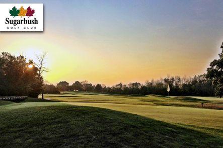 $18 for 18 Holes with Cart and a Bucket of Range Balls at Sugarbush Golf Club in Davison near Flint, #Michigan! #Golf.