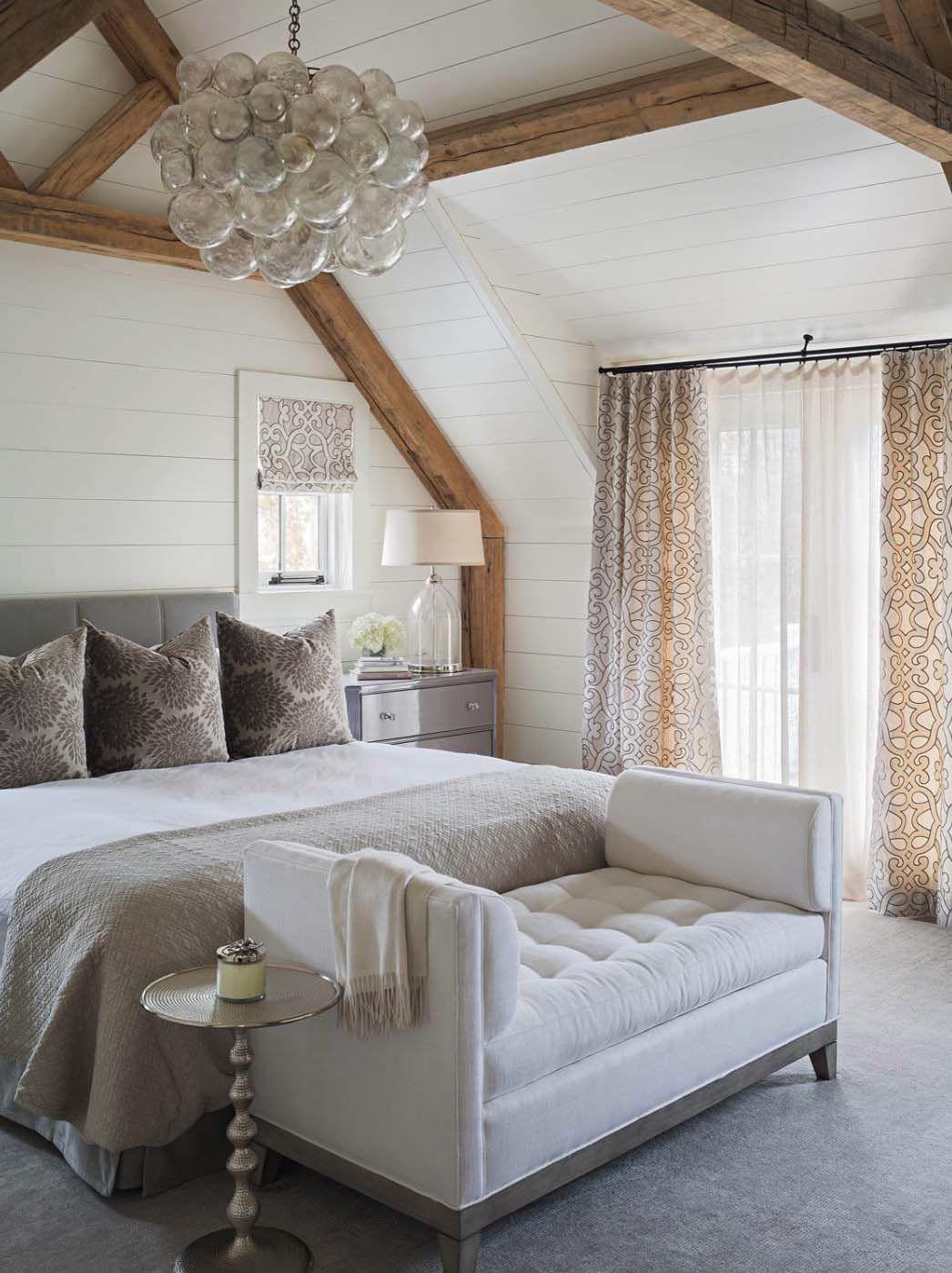 33 Stunning Master Bedroom Retreats With Vaulted Ceilings Elegant Master Bedroom Feature Wall Bedroom Home Bedroom