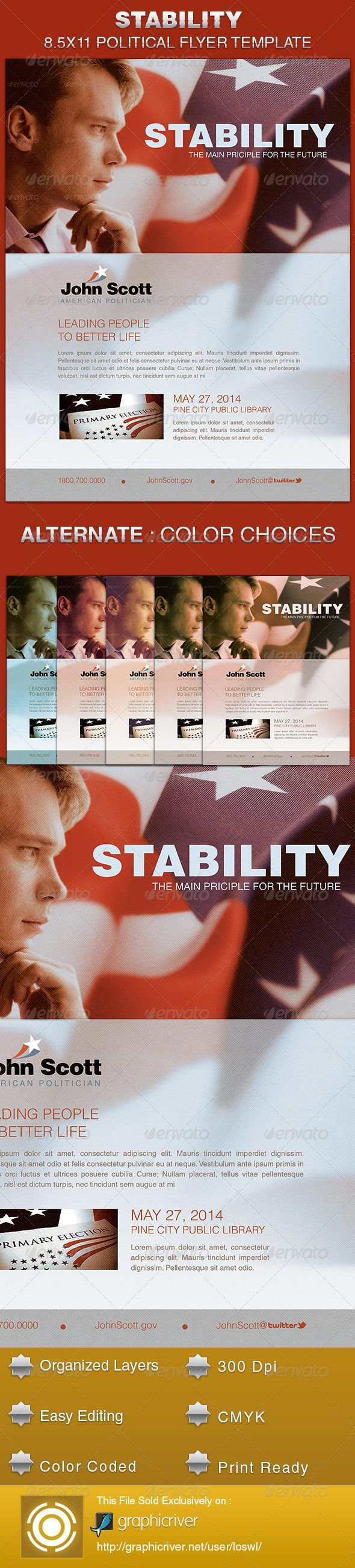 Stability political flyer template flyer template stability and stability political flyer template saigontimesfo