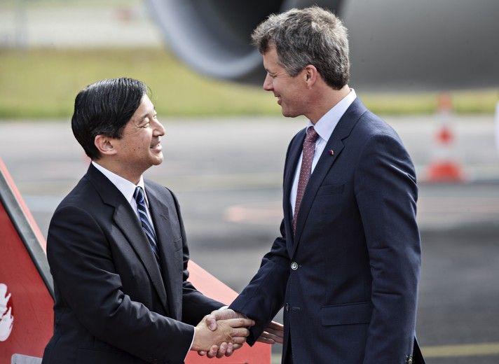 HRH the Crown Prince of Japan visited Denmark | Danish royal