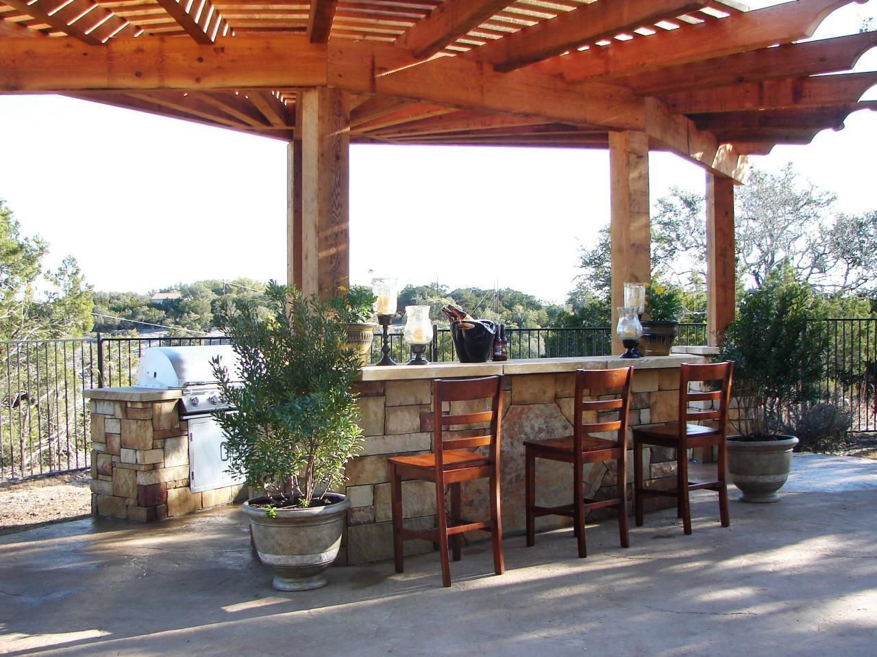 curved pergolas designs - Google Search | Outdoor kitchen ... on Curved Patio Ideas id=39887