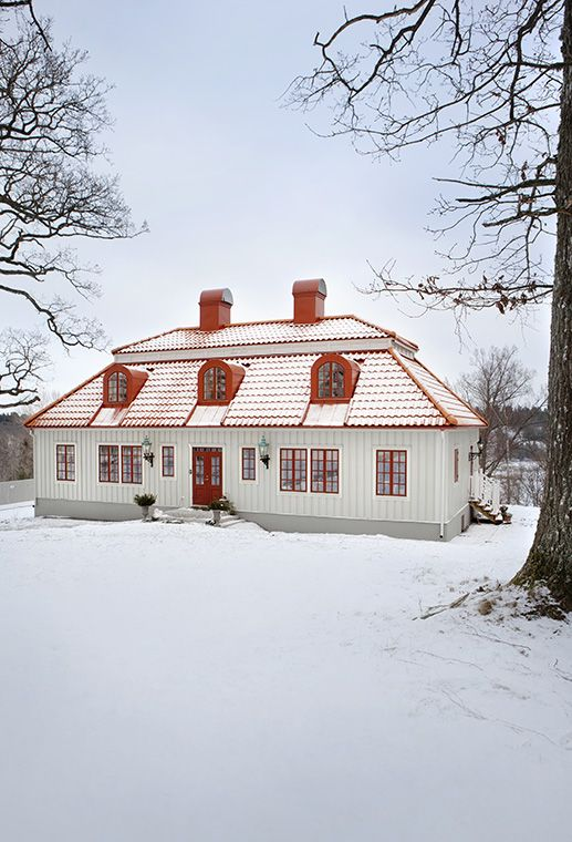 beautiful swedish home - exterior #kbhomes   old houses