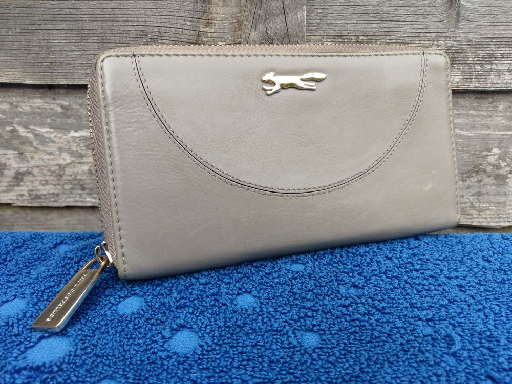 Paul Costelloe Womens Leather Purse Money Notes Credit Card
