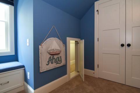 Kids Bedroom Little Tunnel Entrance Hidden Rooms Secret Rooms