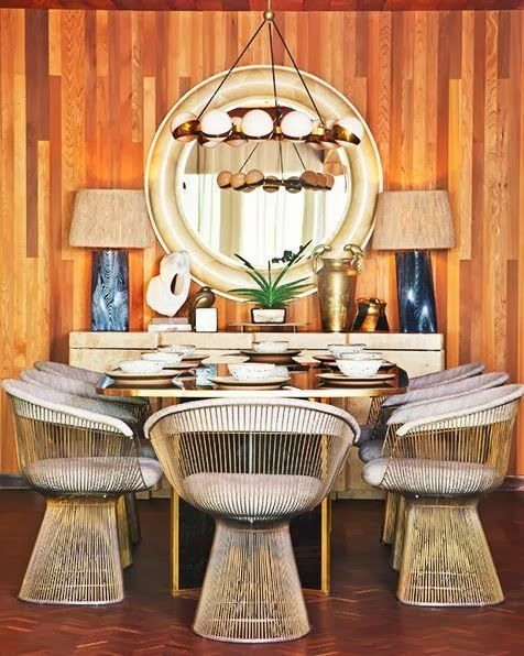 Kelly Wearstler dining room