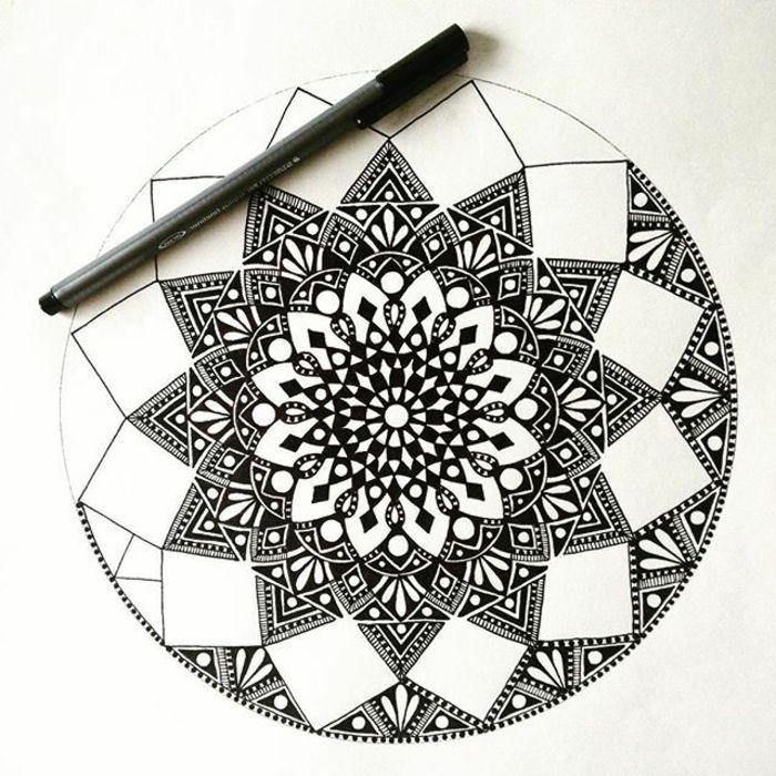 Comment Faire Un Coloriage Anti Stress.1001 Idees Et Techniques Pour Faire Un Mandala Draw