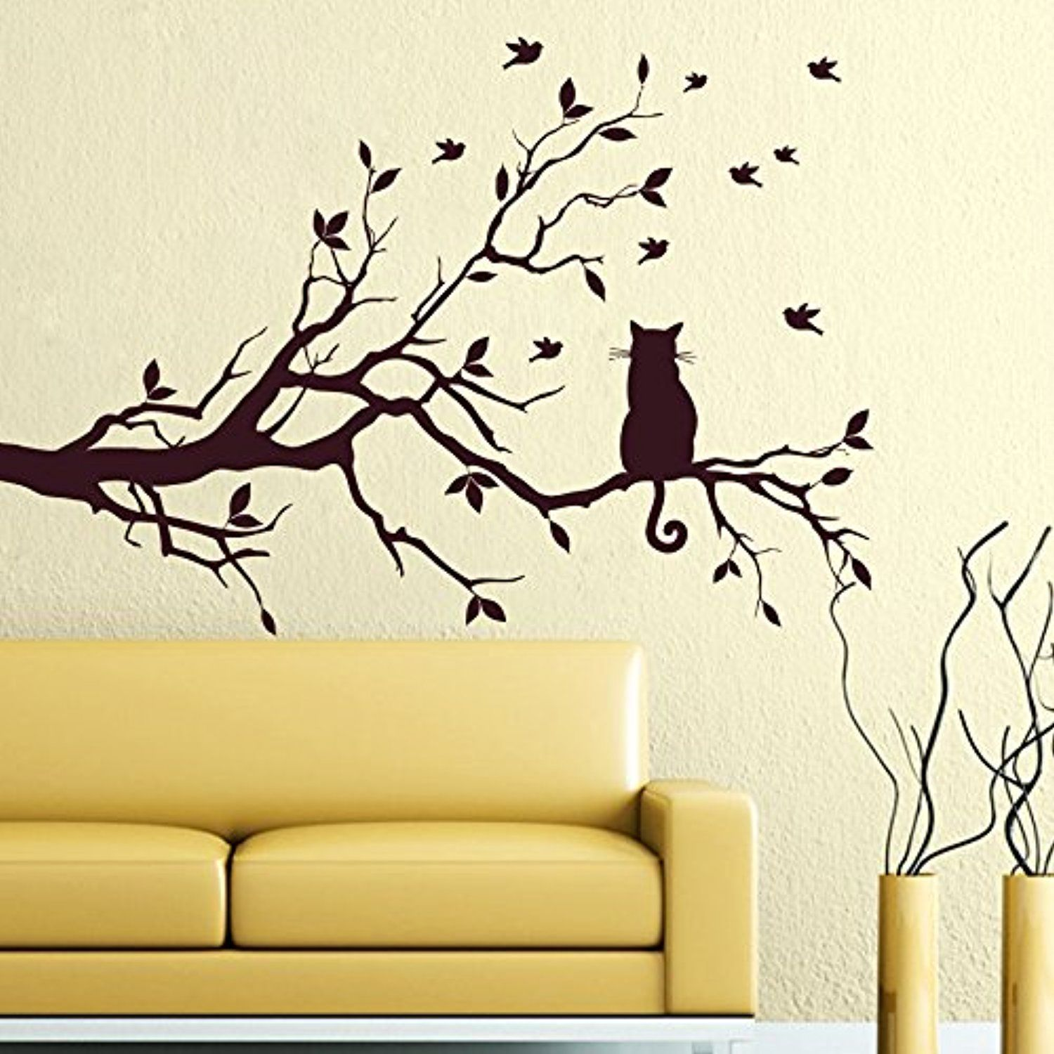 Excellent Twig Wall Art Pictures Inspiration - The Wall Art ...