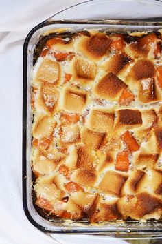 Look at this yummy Extra Juicy Sweet Potato Casserole. #YUM
