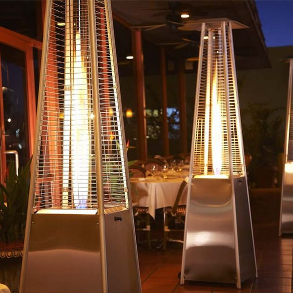 Fire Tube Outdoor Patio Heater