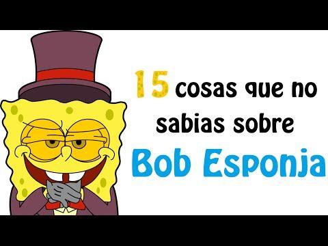Curiosidades sobre Bob Esponja – VÍDEOS