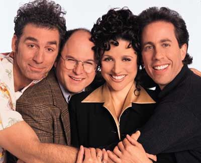 Seinfeld... the show about nothing.  Started slow but grew into a mega-hit.  One of the best comedies ever.