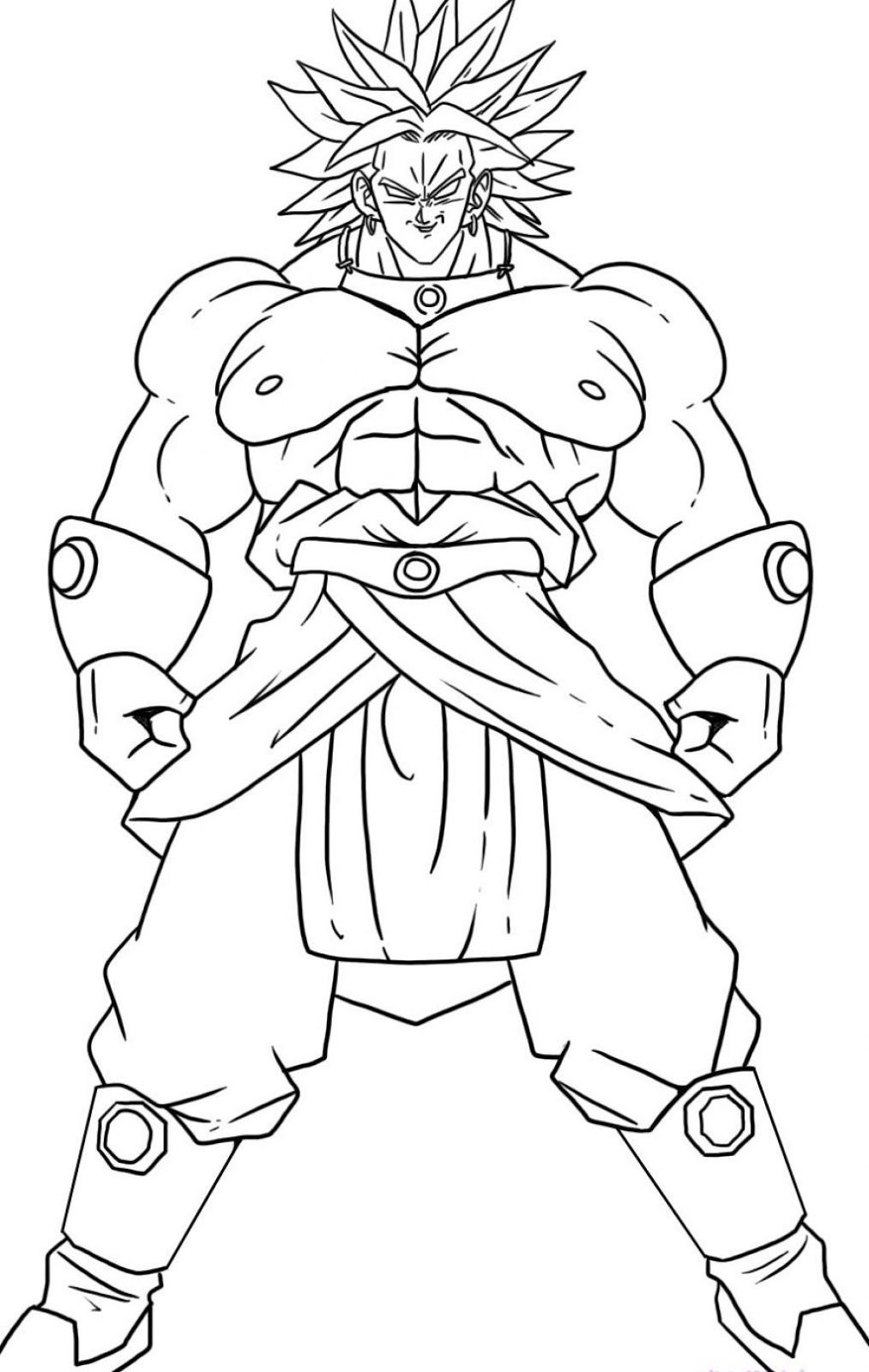 Dragon Ball Z Gogeta Coloring Pages Home Great Present - Gogeta ... | 1600x1013