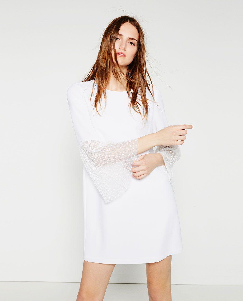 Zara Zwangerschapskleding.Pleated Dress View All Dresses Woman Zara United States My Style