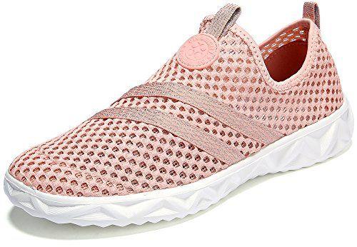 2543e0e94c2e Dreamcity Womens Breathable Mesh Water Shoes Walking Sneakers ...