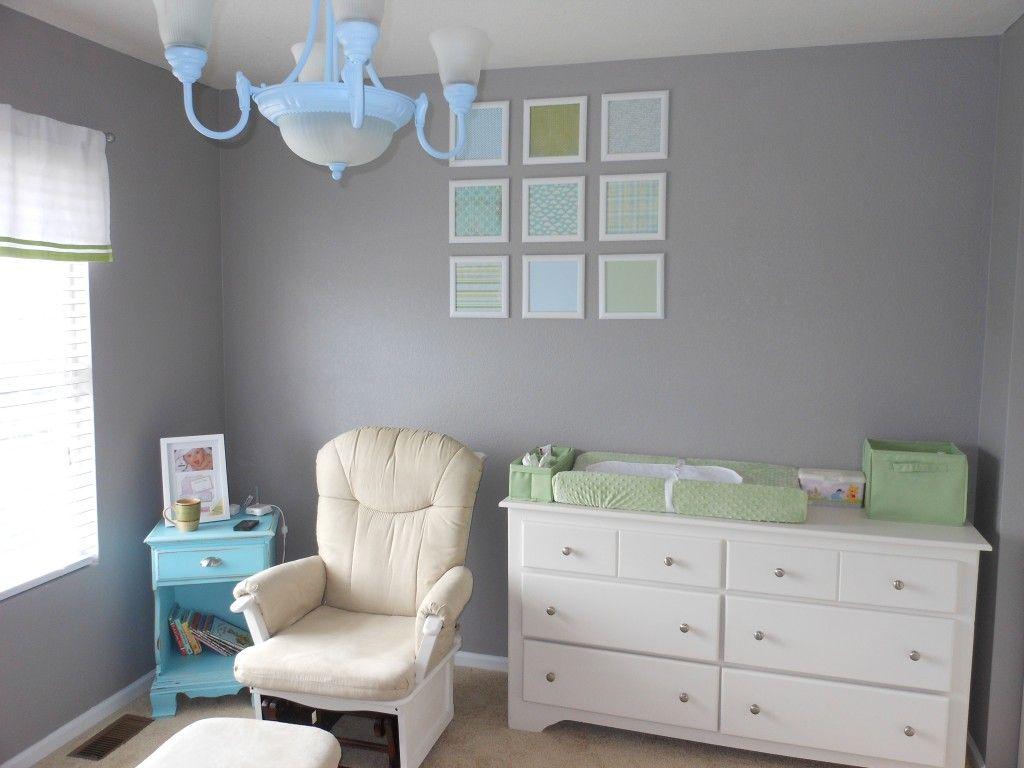 Oliver S Grey Blue Green Nursery Blue Green Nursery Green