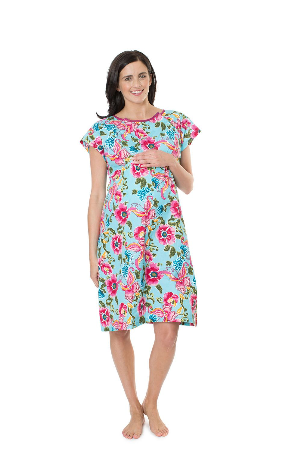 0efe275ba73 Isabelle Gownie maternity delivery and labor gown.Pack it in your hospital  bag with matching maternity and nursing nightwear