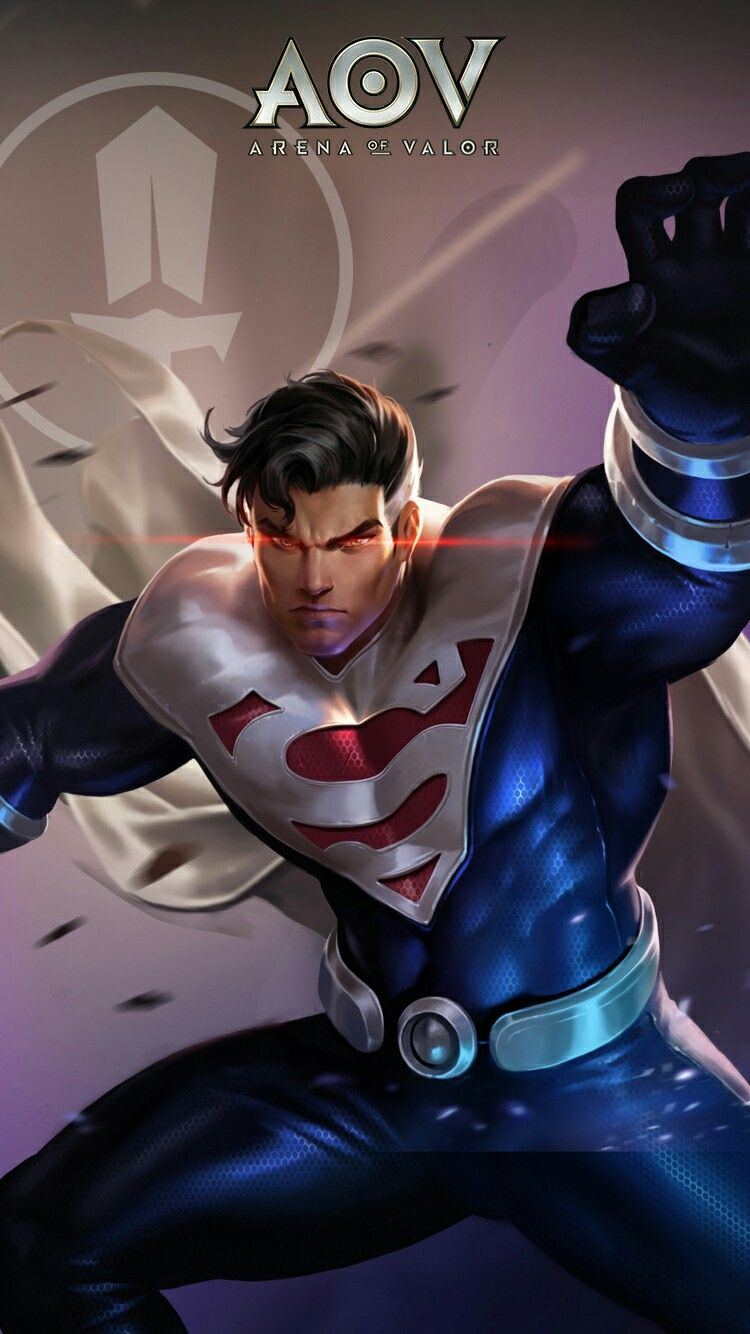 Superman Arena Of Valor Wallpaper Pinterest Superman Superman Comic And Comics