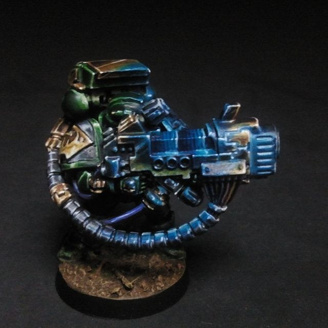 Dark Vengeance Salamanders Space Marine Plasma Cannon | Flickr - Photo Sharing!
