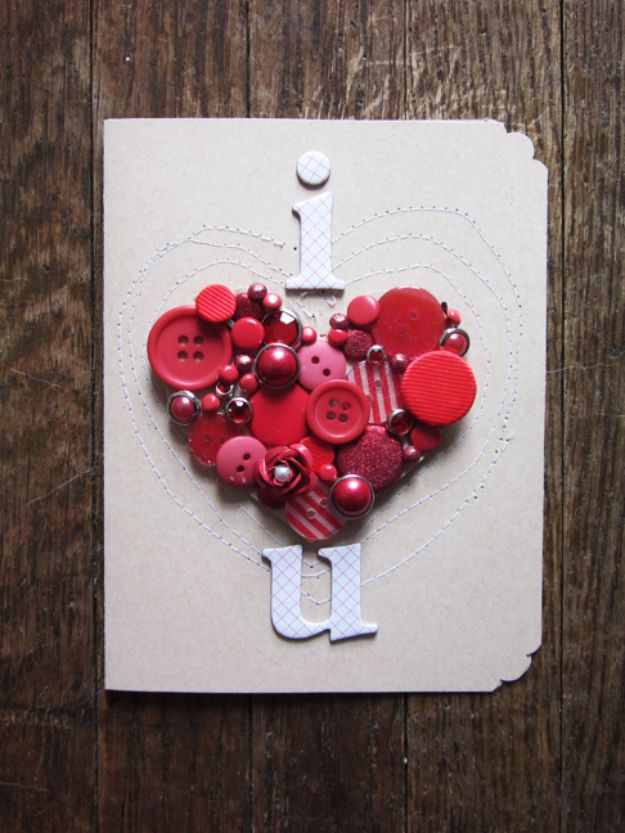 50 Thoughtful Handmade Valentines Cards – Valentine Day Cards Handmade