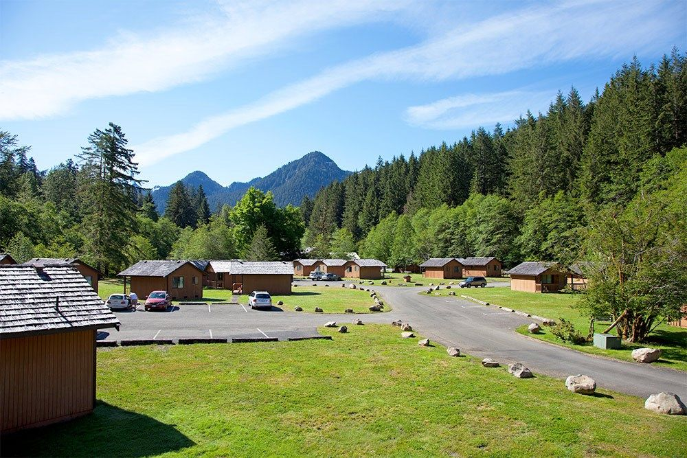 Cabin Rentals At Sol Duc Hot Springs Resort Olympic National