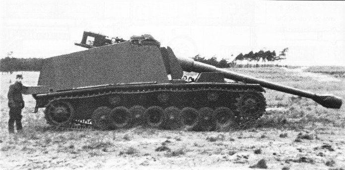 """12,8 cm Selbstfahrlafette auf VK 30.01 (H) """"Sturer Emil"""" (Max)   World oftanks, Wwii vehicles, War tank"""