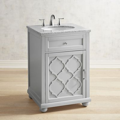 Moorish Tile Gray Bathroom Vanity Pier 1 Imports Bathroom Vanity Bathroom Decor Accessories Grey Bathroom Vanity